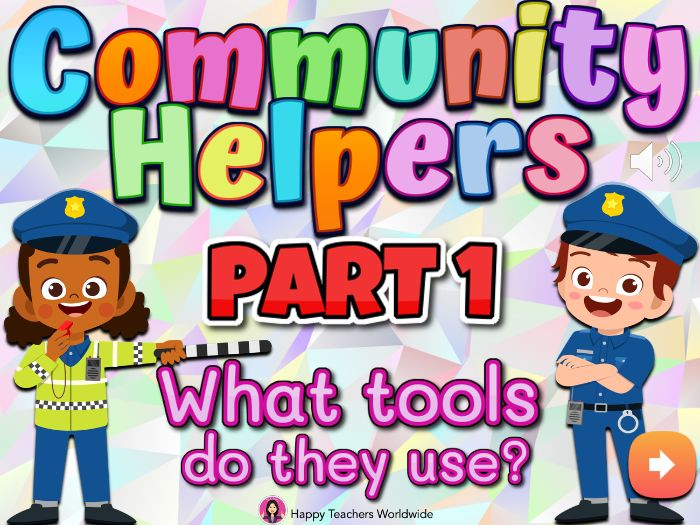 Community Helpers and Tools Powerpoint Game Part 1