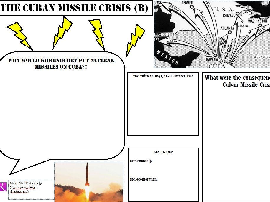 Edexcel GCSE History - Cold War - Topic 2 - The Cuban Missile Crisis PART B