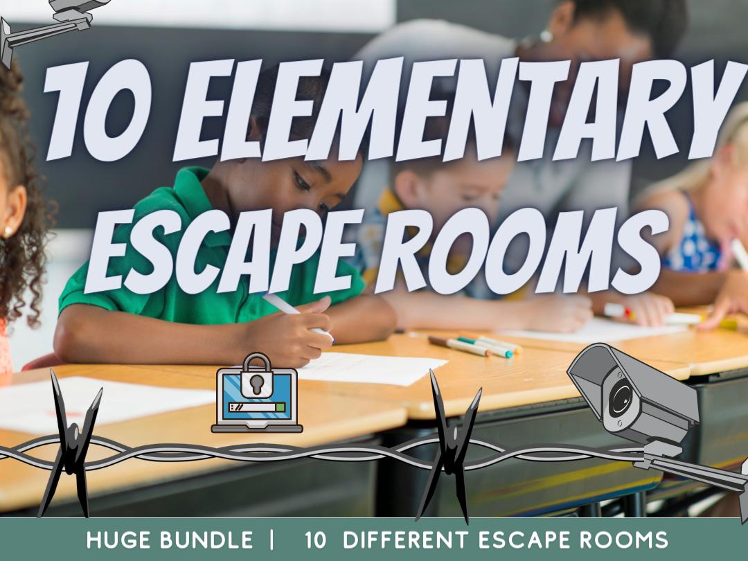 Primary School  KS2 Escape Room Collection