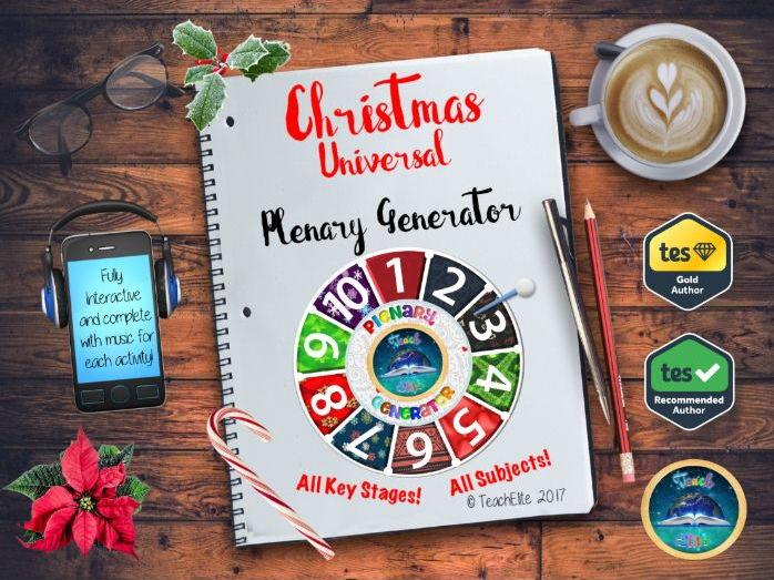 Plenary Generator Christmas Edition