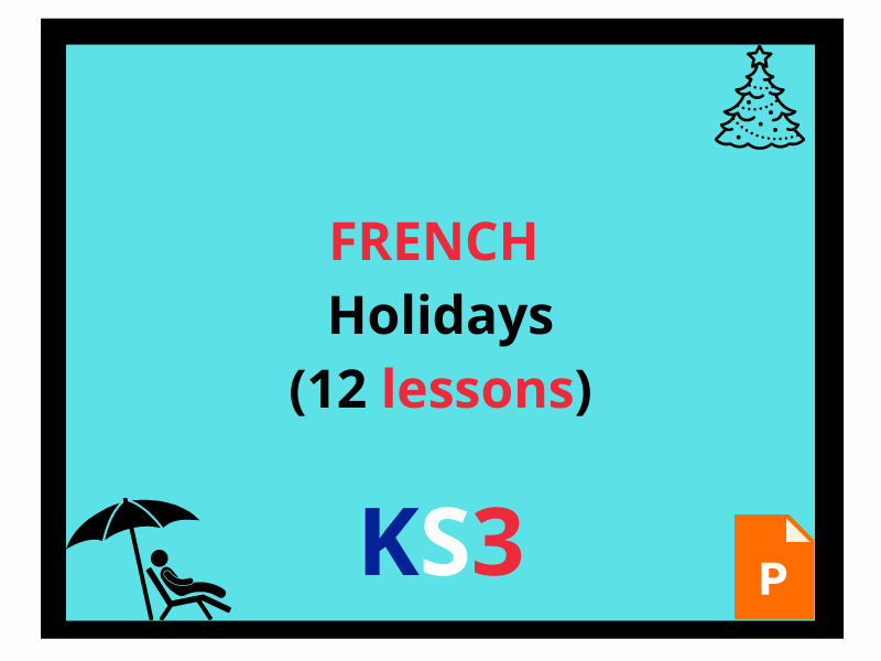 French holiday lessons