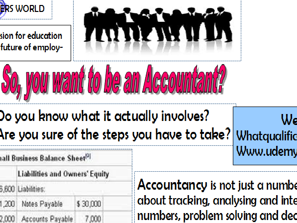 So, you want to be an Accountant