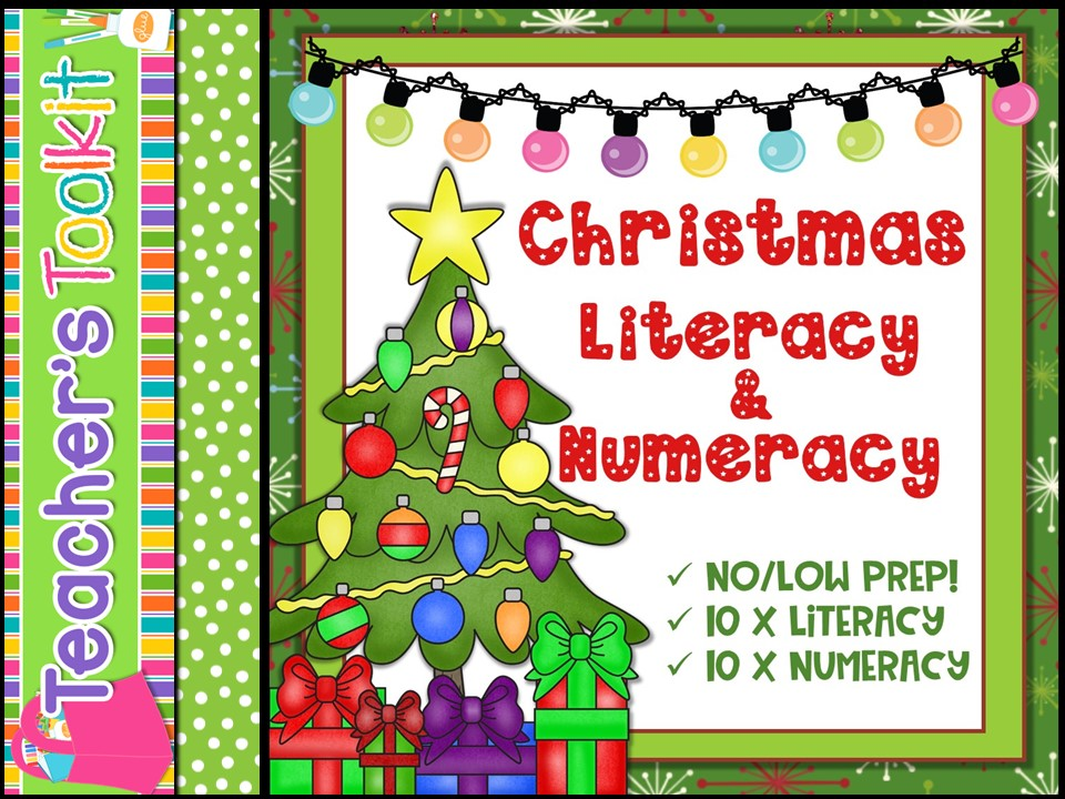 Christmas: Christmas Literacy and Numeracy Activities