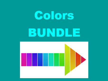 Colores (Colors in Spanish) Bundle
