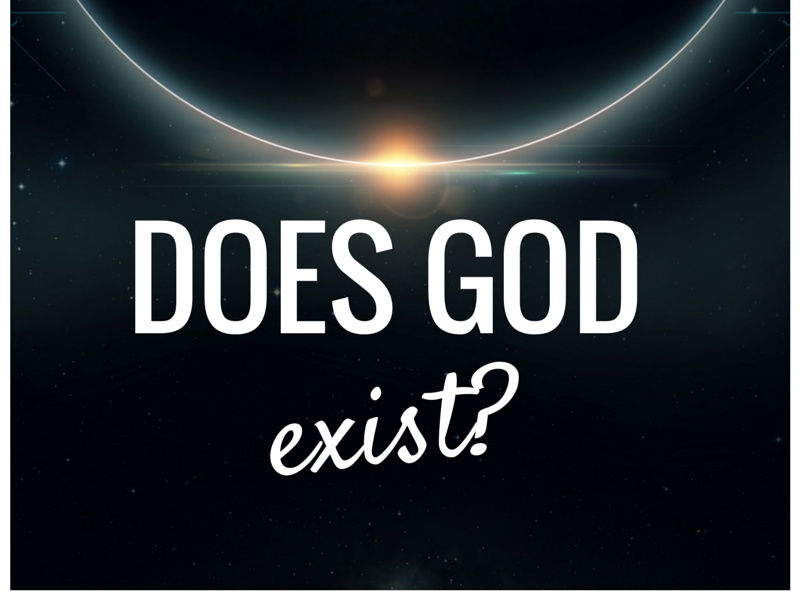 Study of gods existence