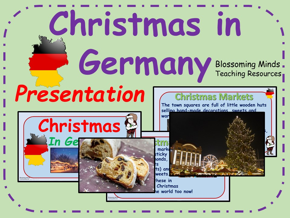 Christmas in Germany presentation