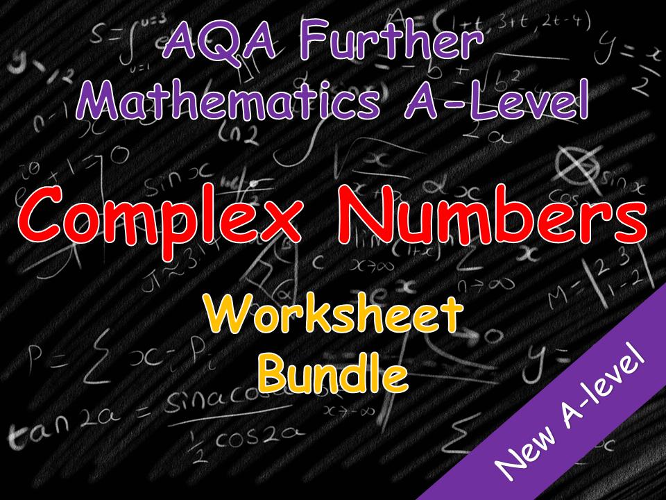 Complex Number Worksheet Bundle