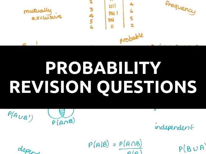 GCSE Maths Probability Questions