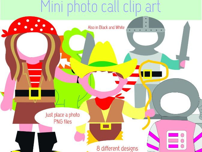 MINI PHOTO CALL CLIP ART
