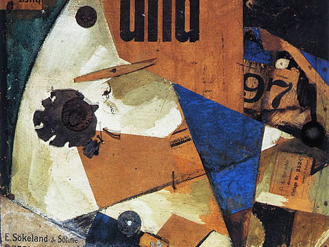 Kurt Schwitters quotes: on collage & his life in Dada by the German artist; for students & pupils