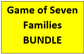 Game of Seven Families English Vocabulary Bundle