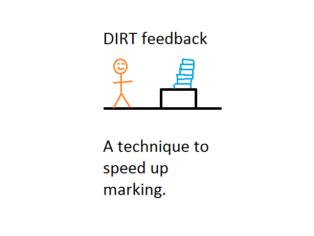 DIRT feedback sheet