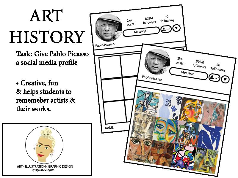 Art History: Give Pablo Picasso a social media profile