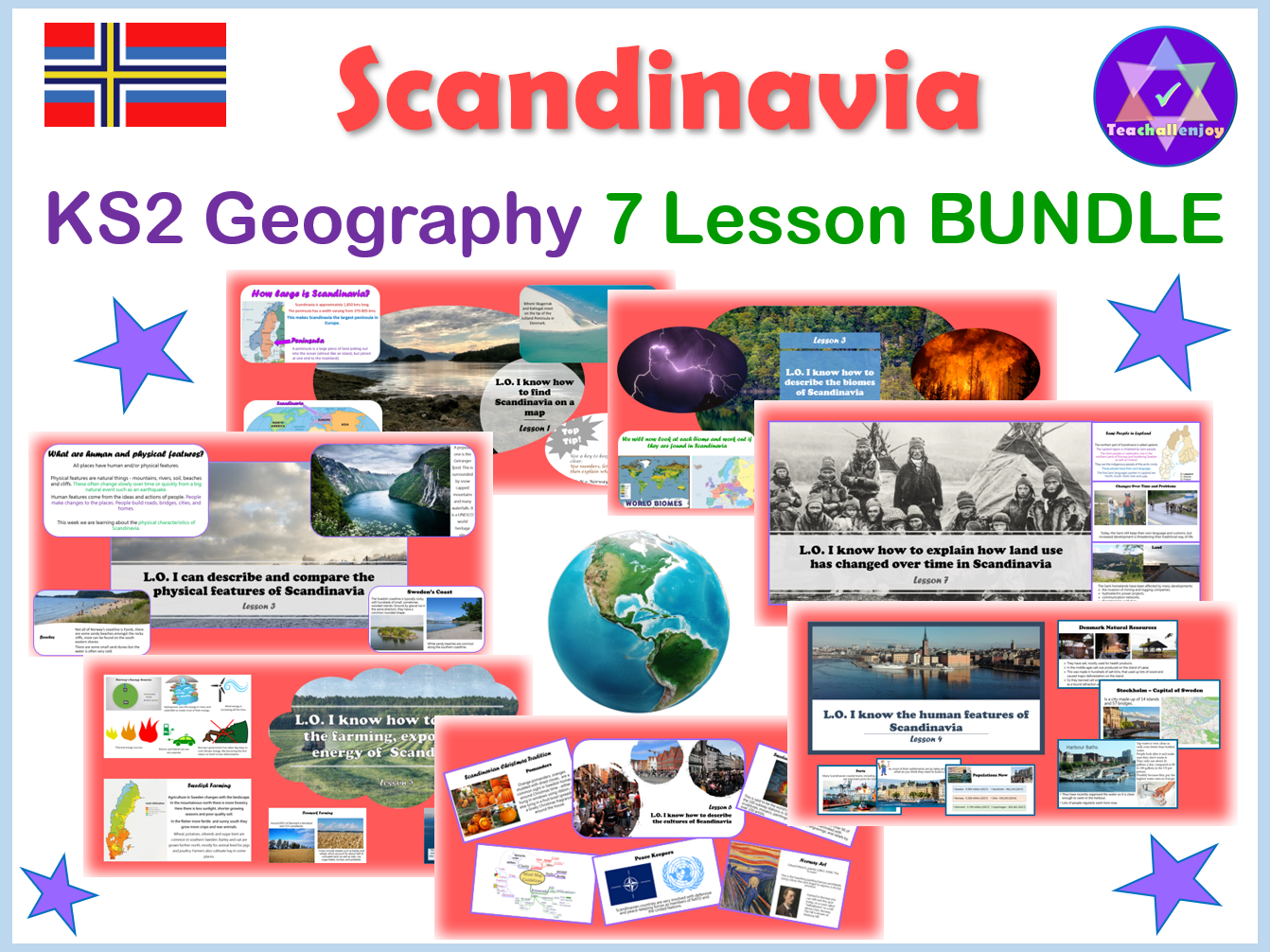 Scandinavia Geography Unit KS2