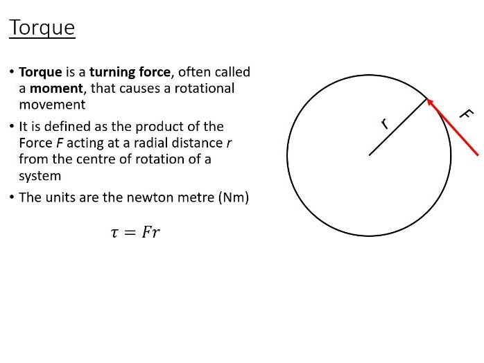 BTec Engineering - Rotational Motion (PowerPoint + Worksheet)