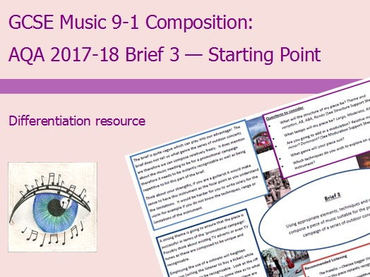 Music GCSE 9-1 Compostion: Brief 3 Starting Point