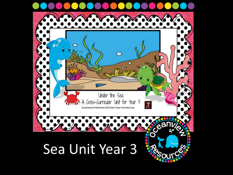 Year 3 Sea Themed Cross Curricular Unit