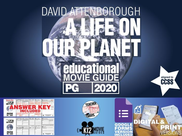 David Attenborough: A Life on Our Planet Movie Guide | Worksheet (PG - 2020)