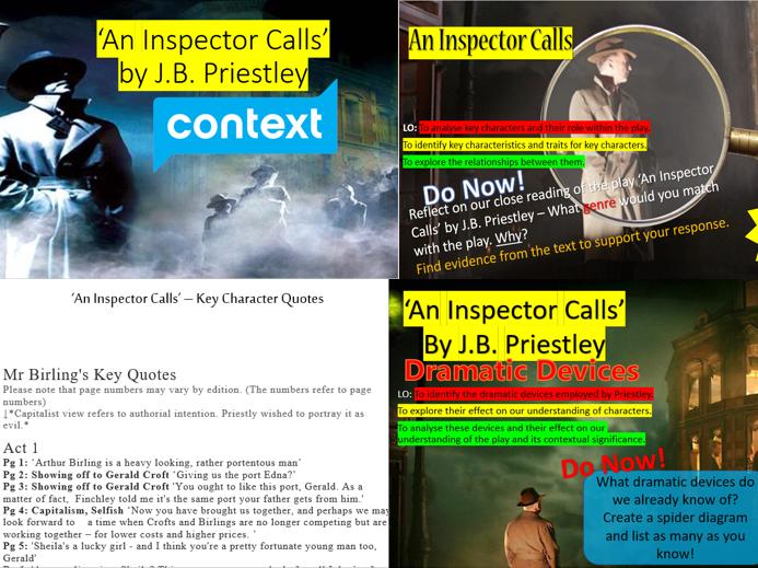 'An Inspector Calls' Bundle 30% off!