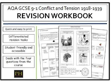 Conflict and Tension Revision Workbook