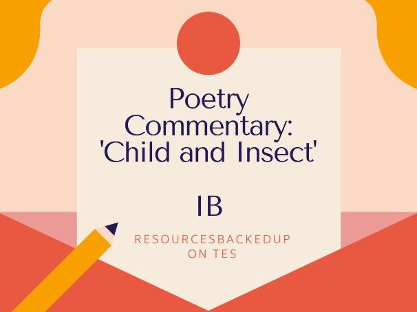 Child and Insect Commentary