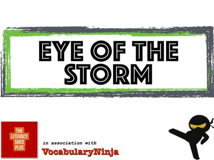 Eye of the Storm Vocabulary Pack