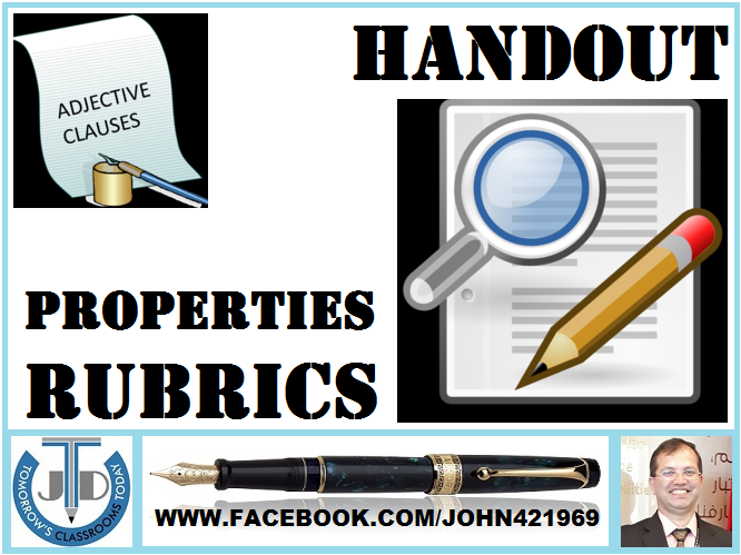 ADJECTIVE CLAUSE: HANDOUT
