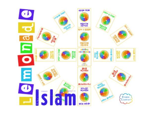 GCSE Islam:  Lemonade! Trivial Pursuit Style Revision Game