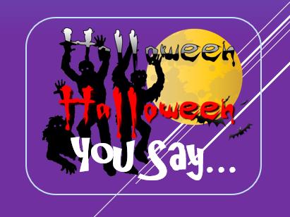 Halloween 2017: You Say Game