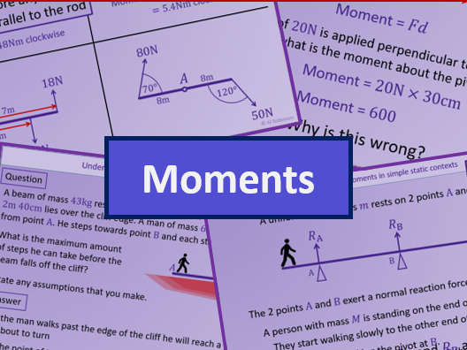 Moments - A level A2 Mathematics Mechanics