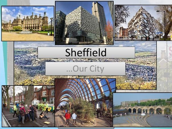 AQA GCSE 9-1 Urban Area in UK -Sheffield