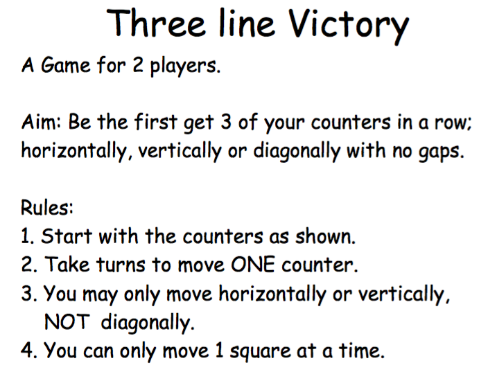 3 Line Victory Game