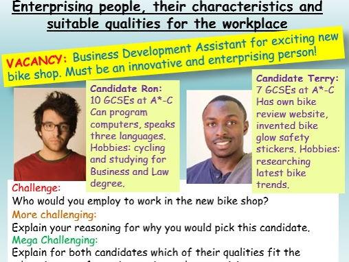 Careers: Enterprise