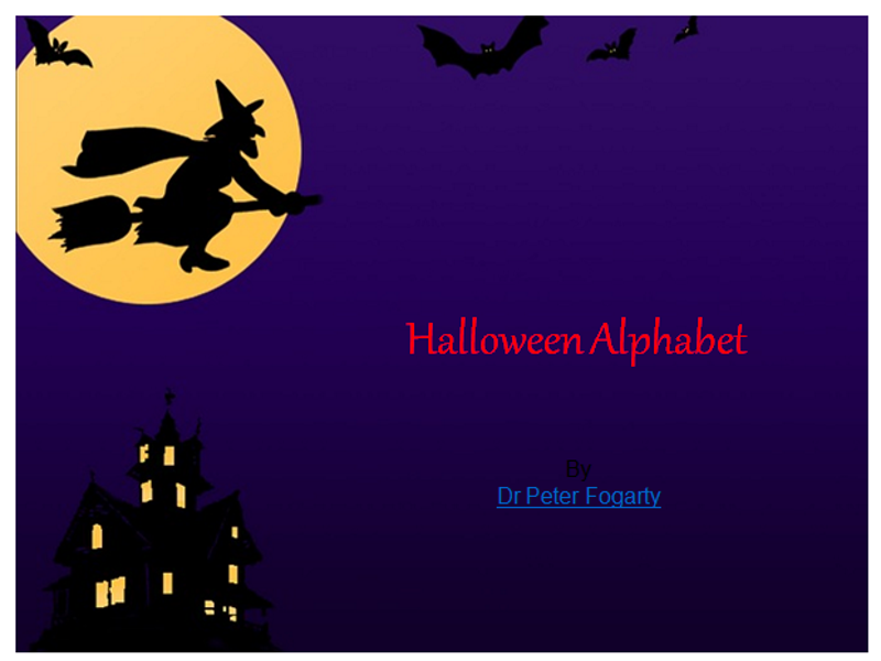 Halloween Alphabet PowerPoint, Halloween Writing Worksheets + 31 Teaching Ideas To Use In Classroom