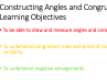 Constructing Angles and Congruency