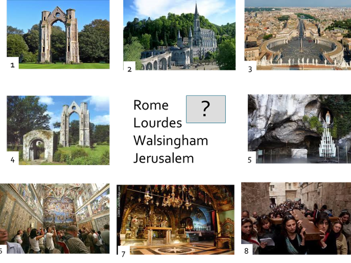 Why pilgrimage is important to Catholics.