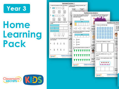 Year 3 Summer Week 2 Home Learning Maths Pack