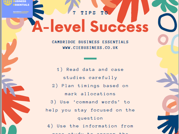 A- level Business 7 Secrets to Success