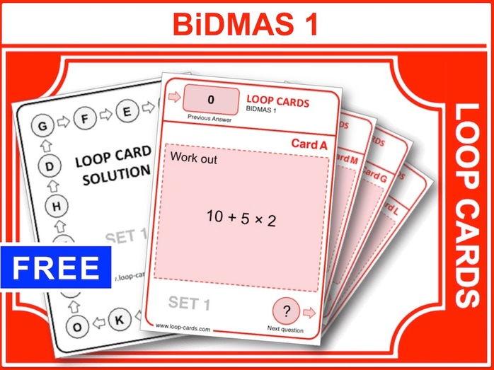 BiDMAS 1 (Loop Cards)