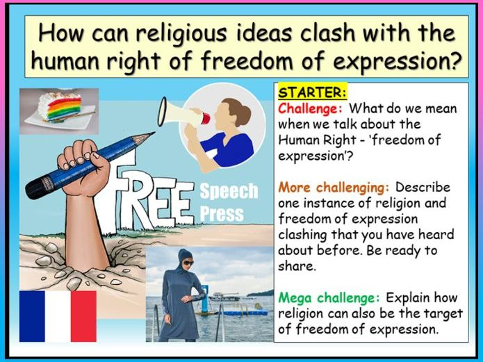 Freedom of Expression + Religion