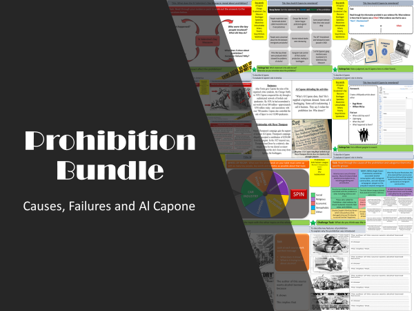 USA: Prohibition Bundle (3 Lessons)