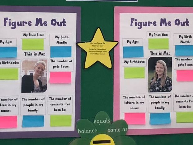 Figure Me Out - Maths Display