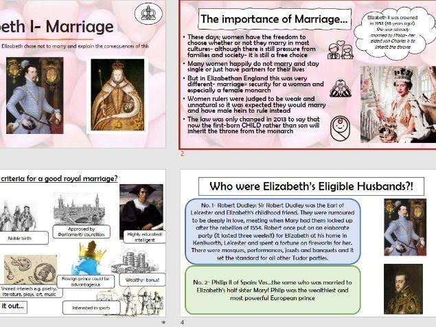 Elizabeth I Marriage