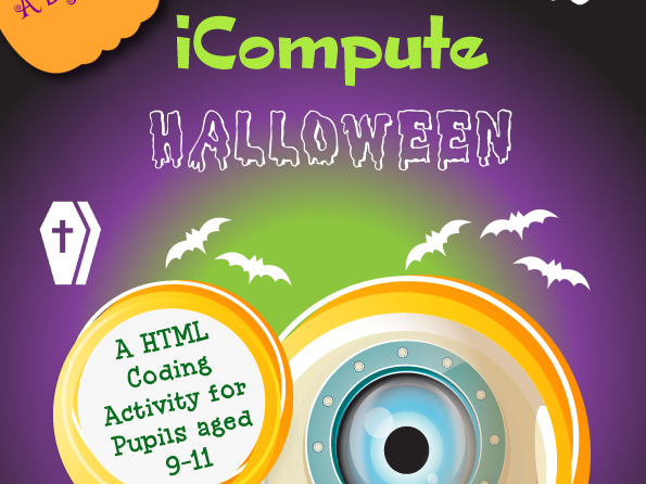 Free Primary Computing Lesson - Halloween with HTML
