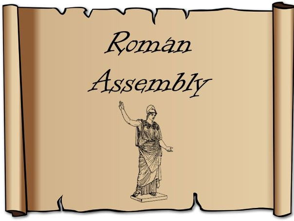 Roman Class Assembly Script – KS2 history, primary, activity, Romans