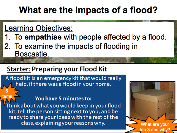 Lesson 2: What are the impacts of a flood?