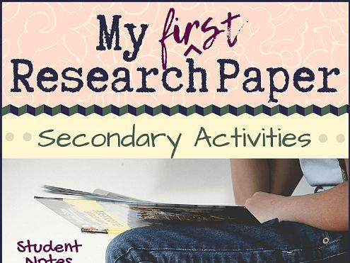 My First Research Paper (secondary)