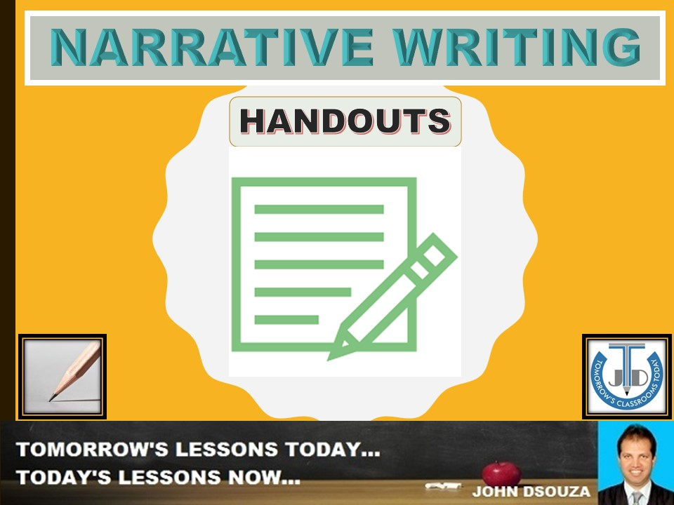 NARRATIVE WRITING: FLOW CHART