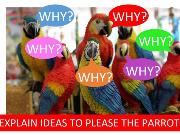 Explain ideas poster