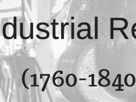 Industrial Revolution Information Poster